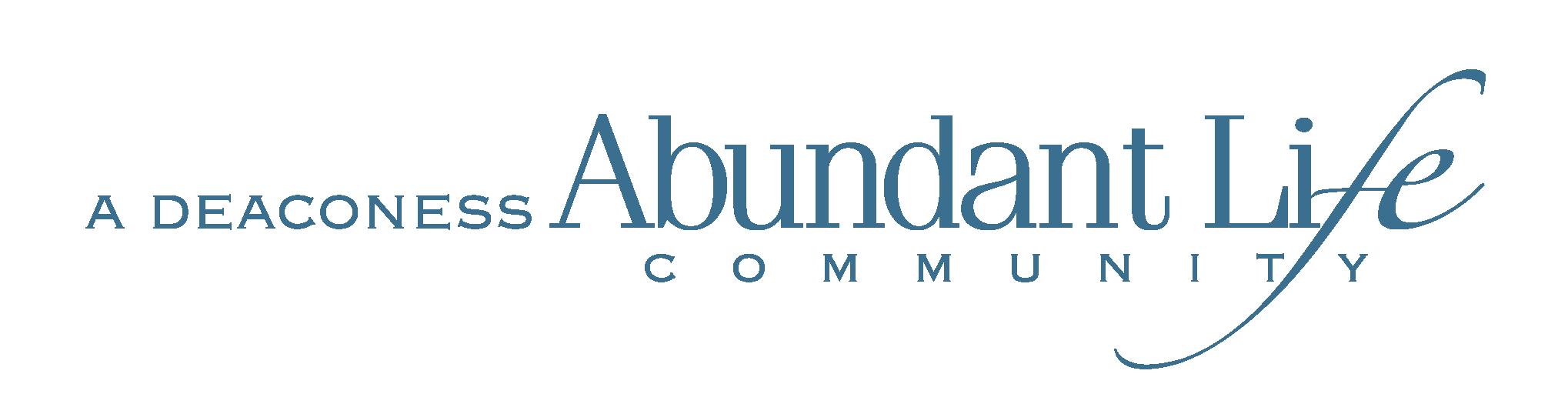 A Deaconess Abundant Life Community Logo