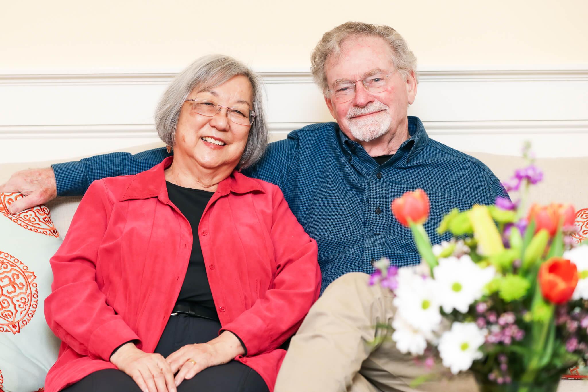 Margie Yamamoto and Mark Hopkins