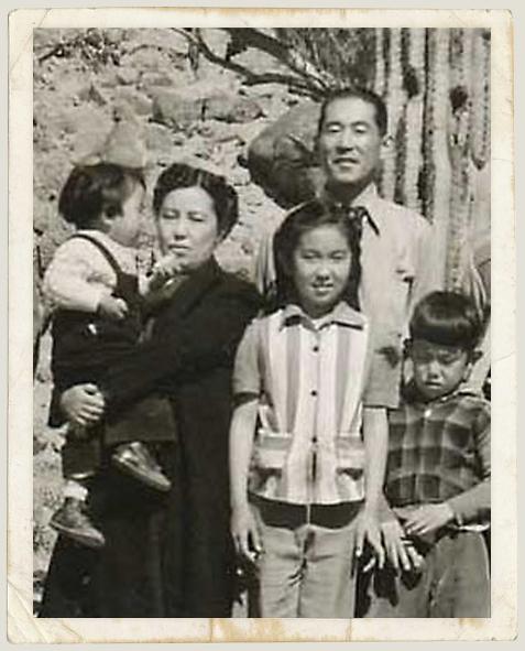 Japanese American Margie Yamamoto and Family