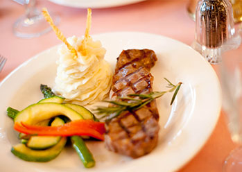 Themed Dinner Steak
